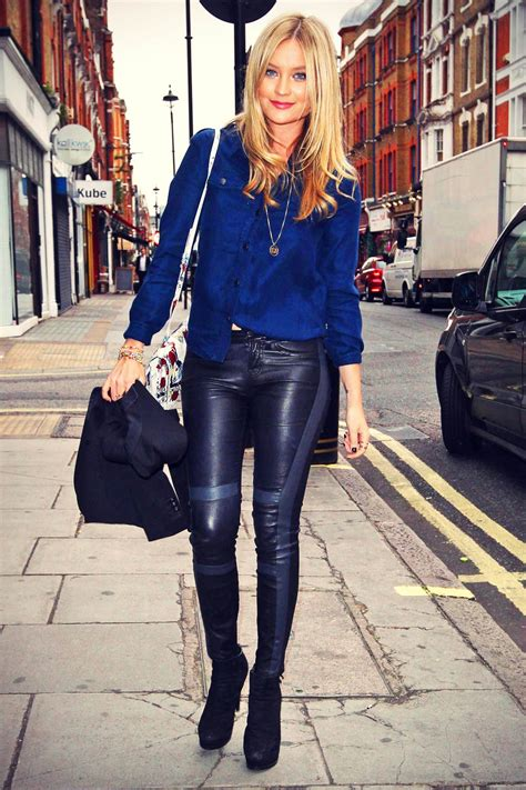 laura whitmore  daisy london press breakfast leather