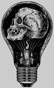 drawing art horror skull morbid skeleton Macabre ...