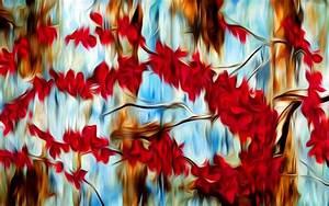 Abstract Tree Painting Home Decor ~ loversiq