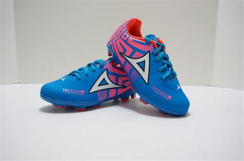 pirma soccer cleats style 550 blue yellow pink imperio 616 | s l1000