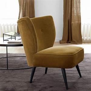 Fauteuil Crapaud Maison Du Monde : fauteuils velours mobilier canape deco ~ Melissatoandfro.com Idées de Décoration