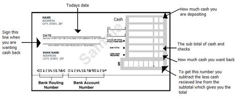 how to fill out a deposit ticket the adopted one how to fill out a deposit slip