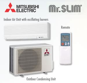 Mitsubishi Slim Ac by Mitsubishi Air Conditioners Featuring Mr Slim Simply Air