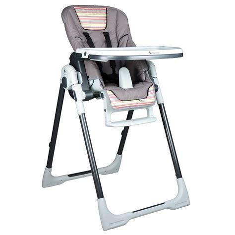 chaise haute b b avis chaise haute bébé vision gourmandise de renolux chez