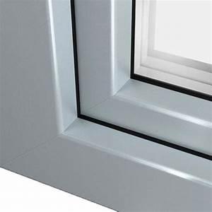 Fenetre Pvc Gris : fen tre pvc gris argent ral 7001 pour un design l gant ~ Premium-room.com Idées de Décoration