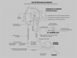 Motorcraft Alternator Wiring Diagram