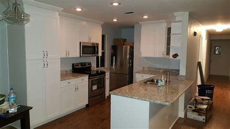 single shaker white angels pro cabinetry