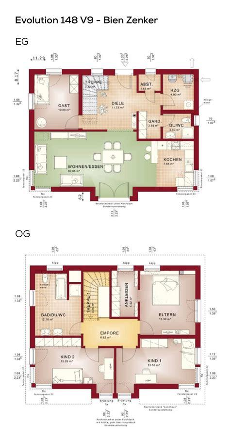Hausgrundrisse Ohne Keller by Grundriss Einfamilienhaus Mit Pultdach Architektur 5