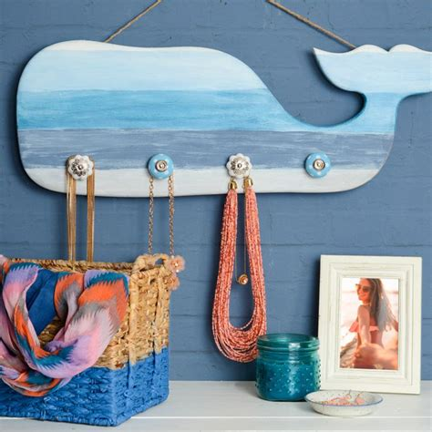 nautical whale organizer nautical crafts whale decor