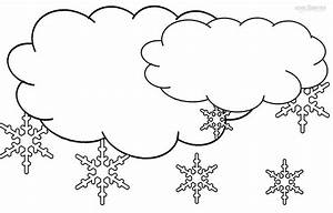 Free coloring pages of rain clouds