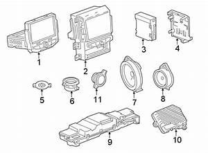 Chevrolet Traverse Radio Control Unit  Labeled  Wdigital