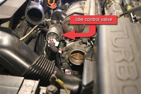 clean idle air valve  volvo  idle air