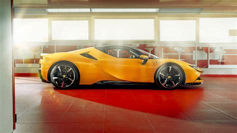 The sf90 stradale's interior embraces minimalism. Ferrari SF90 Stradale 2019 4K 2 Wallpaper | HD Car ...