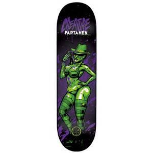 Creature P2 Skateboard Decks by Sale On Creature Partanen Horror P2 Deck Skateboard