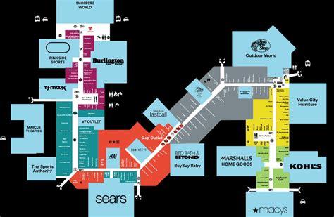 map for gurnee mills map gurnee il 60031