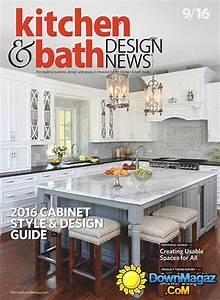 kitchen bath design news september 2016 download pdf With kitchen and bath design news