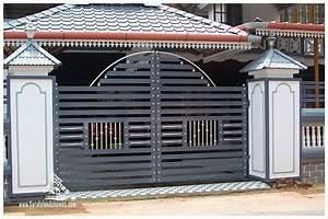 Home main gate and wall design wallartideas