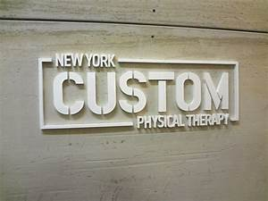 laser cut acrylic sign letters nyc waterjet cut metal With cut metal letters signs