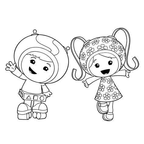 Umizoomi Kleurplaat by Free Printable Team Umizoomi Coloring Pages For