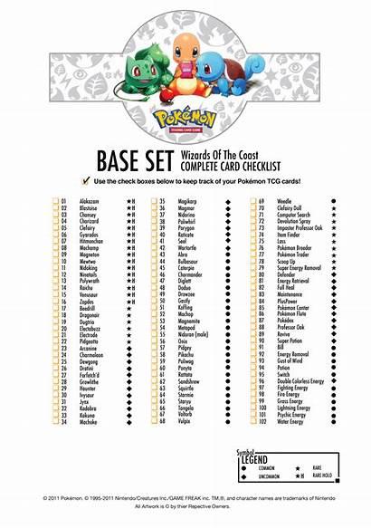 Pokemon Checklist Printable Pdf Base Tcg Donkeytime