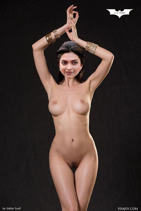 Nude Deepika Padukone Pretend Scorching Bollywood Actress