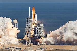 US space shuttle Atlantis lifts off on mission to ISS ...