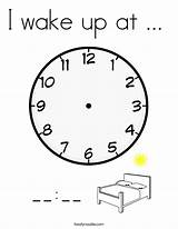 Coloring Wake Lunch Eat Play Pages Read Telling Dinner Fun Twistynoodle Built California Usa Login Favorites Noodle Clock Alarm Change sketch template