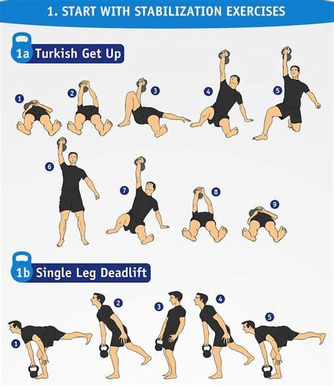 kettlebell beginner training workout guide kettlebells advance continue