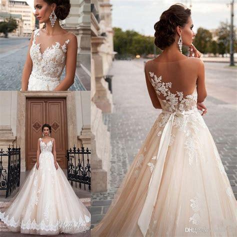 Discount Vintage Mila Nova Champagne Princess Wedding