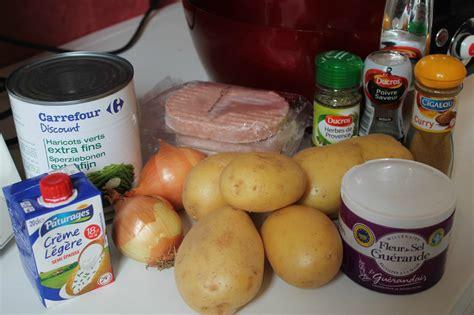 tablette pour recette de cuisine poêlé haricot vert pomme de terre au curry au cookeo