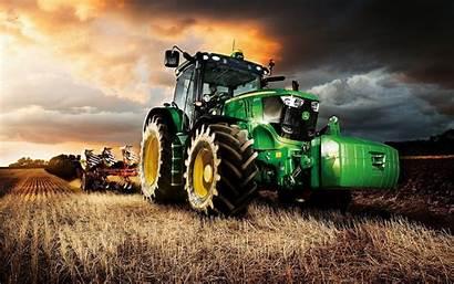 Wallpapers Traktor Tractor 4k