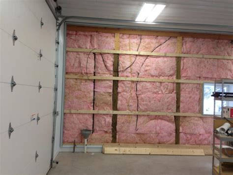 garage insulation ideas finishing the inside of the pole building for b bodies