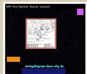 2007 Ford Explorer Starter Location  Wiring Diagram 174647