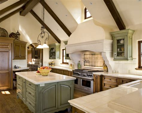 kitchen backsplash panel vaulted ceiling island home design ideas pictures 2240