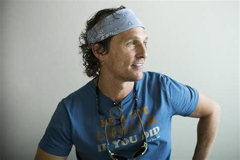 Matthew Mcconaughey Talks About Where His Cool Came From Kut