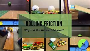 Rolling Friction  Introducing The Weakest Friction To