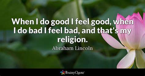 good  feel good    bad  feel bad