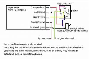 Wiper Motor Connection