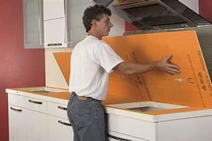 Recouvrir Plan De Travail Cuisine Adhesif : concevoir un plan de travail et sa cr dence en cuisine ~ Dailycaller-alerts.com Idées de Décoration