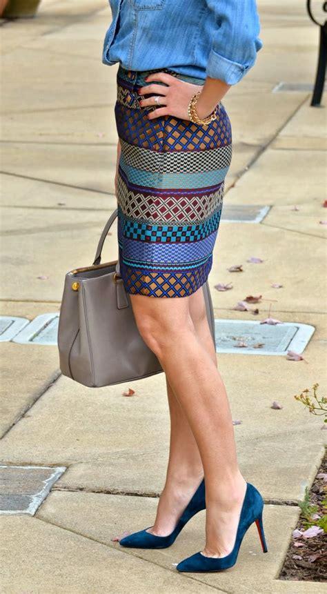 How To Wear Pencil Skirts u2013 Combination Ideas 2018 | FashionGum.com
