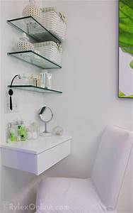 Bathroom Glass Shelves Vanity Warwick NY Rylex Custom