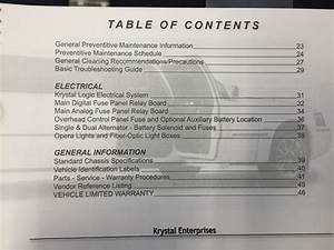 Lincoln Krystal Koach Owner Manual Free