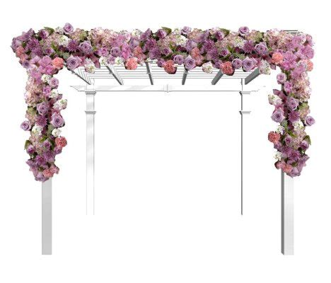 Garden Decoration Png by Wedding Arch Flowers Free Picture Tutorials