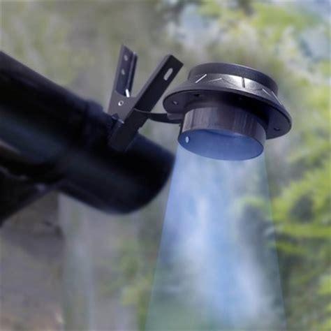 gutter for lights solar powered clip on gutter light