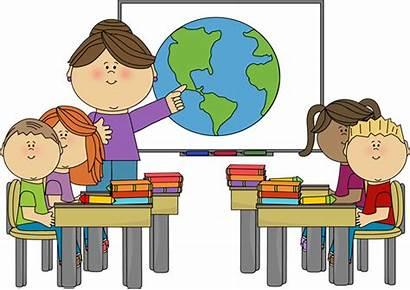 Teacher Clipart Clip Student Desk Teaching Teachers
