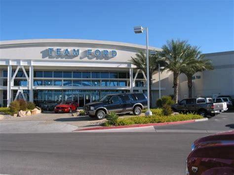 Dealership Las Vegas by Team Ford Lincoln Las Vegas Nv 89130 1605 Car