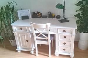 Beistelltisch Weiß Landhaus : arbeiten im charme des landhauses schreibtisch in wei ~ Watch28wear.com Haus und Dekorationen