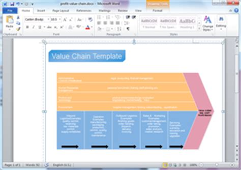 chain templates  word powerpoint