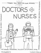Workers Paramedics Communiti Technicians Pharmacists Administrators Techs sketch template