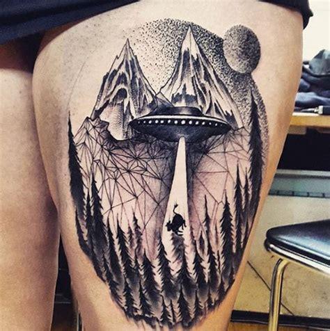 captivating ufo tattoo designs tattooblend